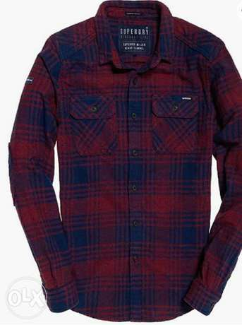Superdry heavy shirts large size from England.