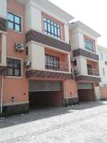 4 bedroom serviced terrace duplex with a maids room
