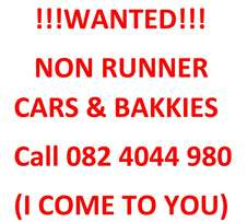 Wanted!! Non Runner Vehicles