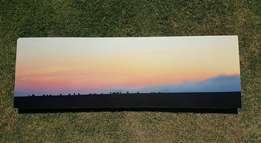 Blocked sunset picture (1500 x 500)