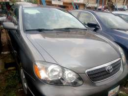 Direct tokunbo toyota corolla 2005 at N2.3m