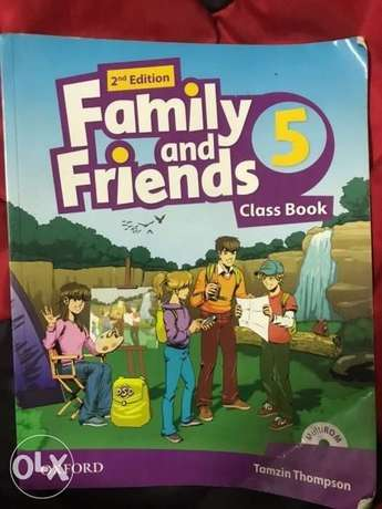 Family and Friends book