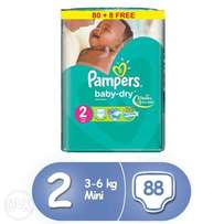 Pampers diaper jumbo size
