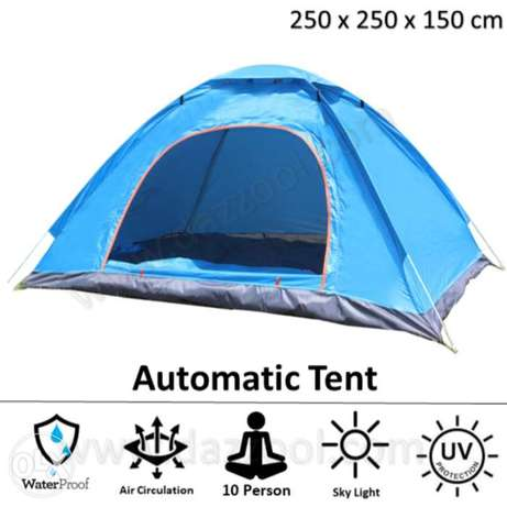Portable Automatic tent for 10 sitting Person 250x250x110 cm