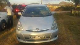 Toyota wish very clean unit