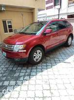 Ford Edge 2007 (Red)