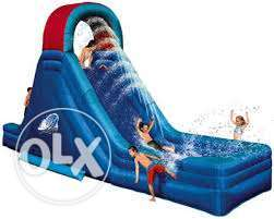 Used Inflatable water slide for sale