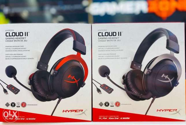 Hyperx cloud 2 headset available now.Cash on delivery in 1 hour