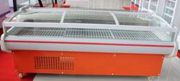 meat display, meat chiler, refrigerated, illuminated, brand new, warra