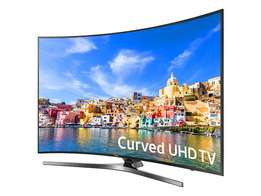 "New 49"" SAMSUNG CURVED 4K SMART T.V Model UA49KU73507K Pay on delivery"