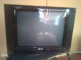 LG television for sale.