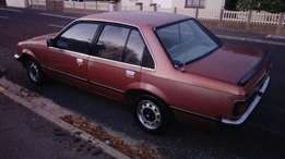 Opel Rekord. In good daily use. NEW tyres and lic