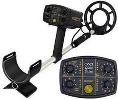 24000Fisher CZ21 Quicksilver Underwater & Land Metal Detector
