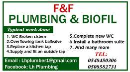 F and F Biofil and Plumbing