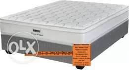 "Mattress and Base Restonic Evolution Series ""marvelous middle"" For Sal"