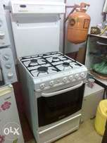 Ex-uk 4 burner complete gas with gas oven