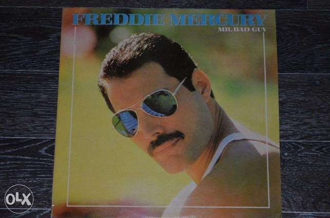 "freddy mercury ""mr bad guy"" vinyl lp"