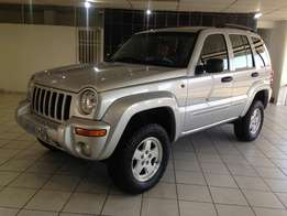 2002 Jeep Cherokee 4x4 Limited Edition 3.7 A/T