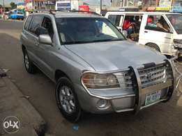 Neat 2004 Toyota Highlander for sale in Choba ( Phc)