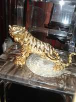 Gold tiger decoration