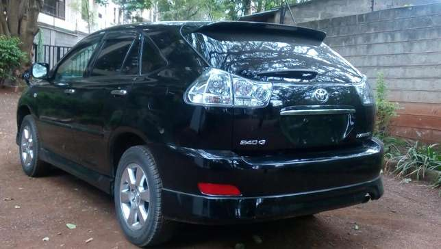 Toyota Harrier 2012 black fully loaded Westlands - image 7