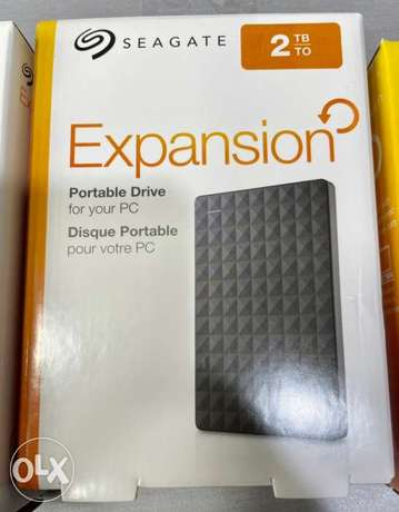 Seagate Expansion 2TB HDD (New!)