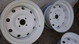 14inch Widened Steelies 4x100