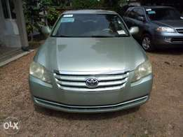 Toyota Avalon 2006model accident free