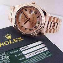 Oyster perpetual Presidential Rolex (Rose Gold)