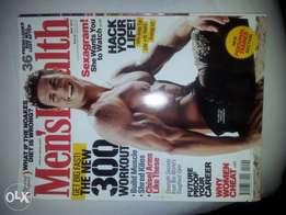 mens Health magazines