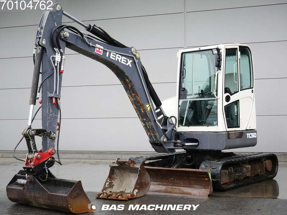 Terex TC50 German machine - 2 buckets - 2011
