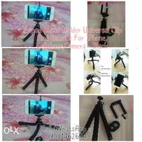 Tripod Stand Holder Clip And Remote For phones