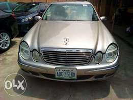 MERCEDES BENZ E350 Gold Colour 2006 Model