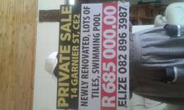 Private sale...Vanderbijlpark
