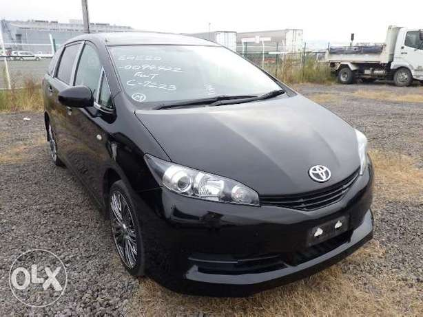 Just arrived Toyota wish model 2010 KCN number Mombasa Island - image 1