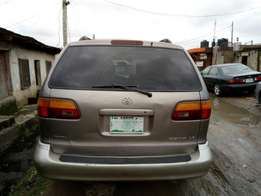 Super clean slightly Nigerian used Toyota Sienna with good condition