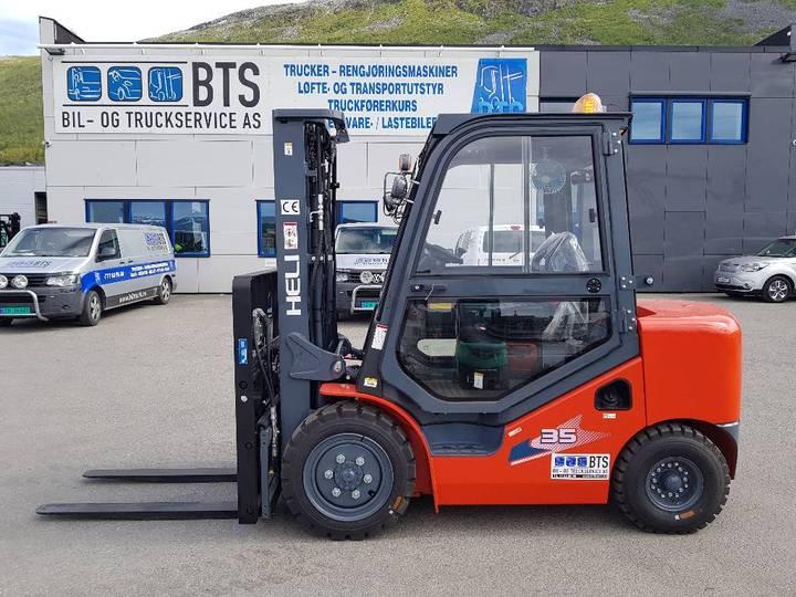Heli Cpcd35-w15h - 3,5 Tonns Dieseltruck (på Lager) - 2019