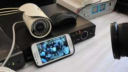 full set cctv cameras for home or office