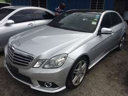 Mercedes Benz E250 with triple sunroof 2010