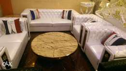 Versace sofa chairs by seven white pure leather