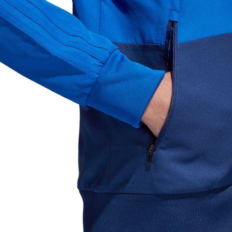 Bluza męska adidas Condivo 18 Presentation Jacket niebiesko