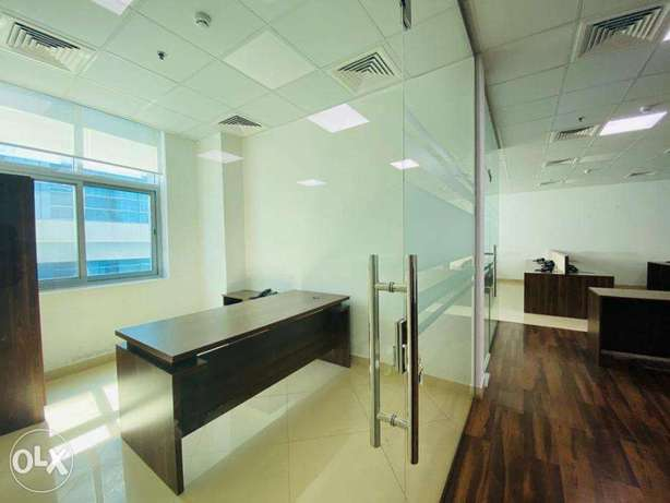 300 sqm Partition office space Airport road Rent 21,000 QR only المطار القديم -  4