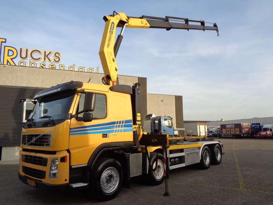 Volvo FM 460 + Manual + PTO + Palfinger Crane + euro 5 + Remote - 2009