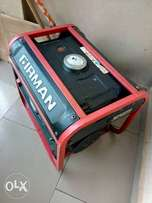 SLASH OFF: 8months old firman generator for sale