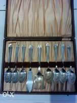 Antique set of spoons