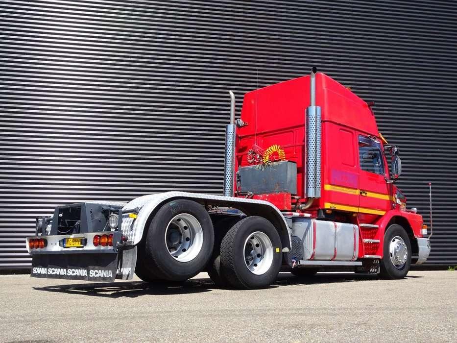 Scania T 143H 450 V8 / 6X2 TORPEDO / HAUBER / T-CAB - 1990 - image 2