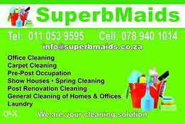 Superbmaids cleaning services