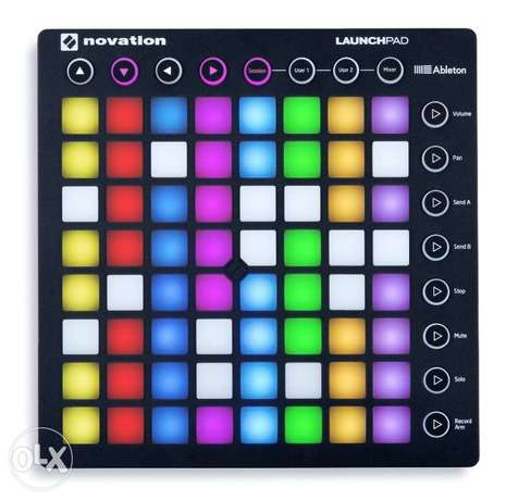 Novation Launchpad Ableton Live Controller with 64 RGB Backlit Pads