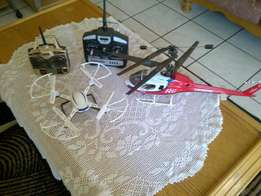 Remote control Helicopter and Drone