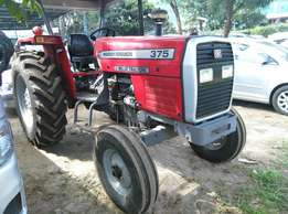 375 Massey Fergusion Tractors,75 HP,3 Disc Plough ,Weights $ Warranty
